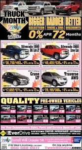 Truck Month, Tyrrell, Cheyenne, WY 2018 Silverado Lt 4wd Crew Cab Ford Truck Month The 2015 Chevy Colorado And Pickup Trucks Big Savings During At Rusty Eck Celebrate Your Local Dodge Dealership Is Extended Get Your 2016 Before United Nissan 2017 Youtube Gmc Acadia Canyon Sierra Yukon Budds Chev Ram Special Offers Brownfield Massive Basil Cheektowaga Ny