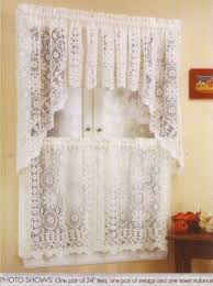 Amazon Lace Kitchen Curtains by Lovely Lace Kitchen Curtains Taste