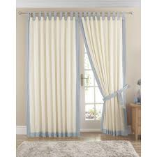 Blue Sheer Curtains Uk by Lined Tab Top Curtains Pair Available In Light Blue
