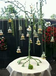 Hanging Cupcake Tree Branches Stand