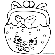 Shopkins Season 4 Coloring Pages