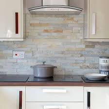 Nice Kitchen Wall Tiles To Go With High Gloss Cream Units
