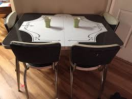 50s Chrome Formica Vinyl Table/Chairs | #1820937205 Flash Fniture 36 In Round Natural Laminate Table Set With Cosco Vinyl Folding Chairs Game Poker Teal Shacos Placemats For Dinner Of 6 Pvc Woven Mats Wipe Clean Heat Resistant6 Green Bamboo Grid Us 208 2015 Free Shipping Coffee Shop Wall Decal Tea Cafe Restaurant Decoration Chair Mural Art Stickerin Minimalist And Cool Scdinavian Ding Modern Room Small White Big Material Faux Detail Feedback Questions About 24 Kitchen Height Tables For Tray Cloth Foldable Combi Roller Venetian Blinds Curtains Carpet Roll Vinyl Sutton 3 Piece Spacesaver Bistro Glass Top And Padded