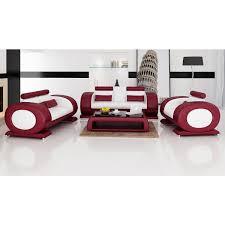 canapé de luxe design fauteuil canapés en cuir pleine fleur costa canapés