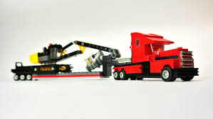 Long-Haul Truck With Trailer & Tracked Excavator (Microscale Lego ... Truck Trailer Toy First Gear Peterbilt 351 Day Cab With Dual Dump Trailers Farmer Farm Tractor And Kids Set Onle4bargains 164 Scale Model Truckisuzu Metal Diecast Trucks Semi Hauler Kenworth And Mack Unboxing Big 116 367 W Lowboy By Horse Hay Biguntryfarmtoyscom Bayer Equipment Custom Bodies Boxes Beds Amazoncom Daron Ups Die Cast 2 Toys Games A Camping Pickup