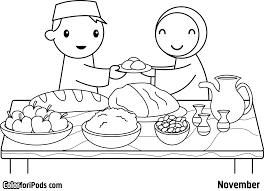 Ramadan Coloring Pages To Download And Print For Free Line Drawings