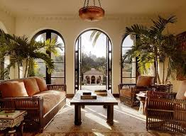 British French Colonial Style Rooms