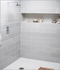 light gray subway tile shower 盪 modern looks 25 best ideas about