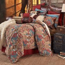 Bone Collector Bedding by Southwestern Comforter Sets Rustic Bedding