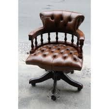 fauteuil bureau chesterfield fauteuil de bureau chesterfield chaise siège en cuir 6
