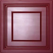 ceilume madison black 2 ft x 2 ft lay in coffered ceiling panel
