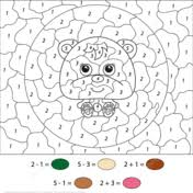Color By Number Worksheets 168