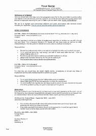 Key Skills Resume Unique Awesome Template For A Good Certificate Of
