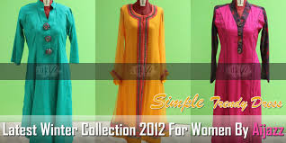 Latest Winter Collection 2012 For Women By Aijazz