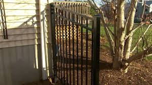 Decorative Garden Fence Panels by Decorative Metal Fence Installation Tips Installing Posts And