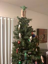 Darth Vader Christmas Tree Topper by Use Your Old Star Wars Action Figures To Make A Cool Star Wars