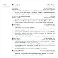 Software Developer Resume Example Engineer Format Download Senior