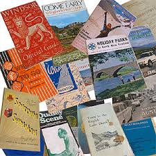 Vintage Ephemera Travel Guides For Sale