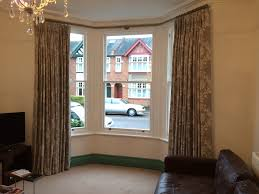 Restoration Hardware Curtain Rod Rings by Metal Curtain Pole For A Bay Window No Corner Brackets Or Snagging