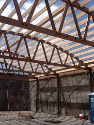 104 Bowstring Truss Design New Es By Truss Com Roof Construction Roof Es Architecture