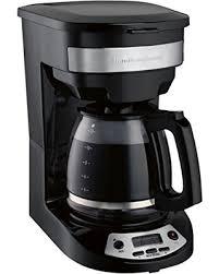 Hamilton Beach 46299 Programmable Coffee Maker Black