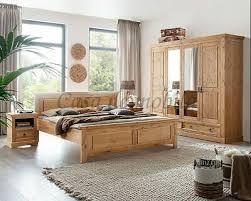 massivholz schlafzimmer set 4teilig komplett kiefer massiv