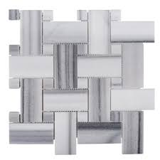 jeff lewis camden 12 in x 12 in x 10 mm marble mosaic tile 98484