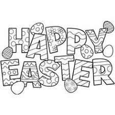 Free Easter Clip Art Black and White