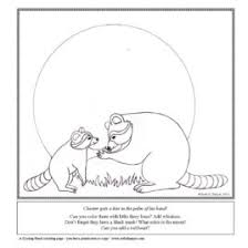 Kissing Hand Coloring Pages Ruth E Harper