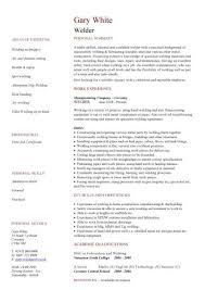 Welding Resume Examples Magnificent Good Welder We Have A Great Deal Of Templates Ideas