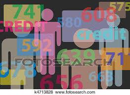 bureau clipart clip of credit bureau report card numbers