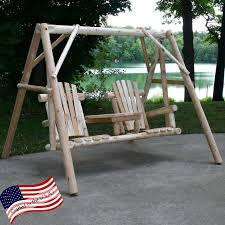 Lakeland Mills Country Garden Swing and Stand Set