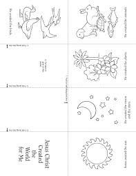 Jesus Created The Earth For Us Lds Coloring Page
