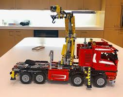 100 Service Trucks For Sale On Ebay Lego Technic 8258 Red Crane Truck Complete With Instructions EBay