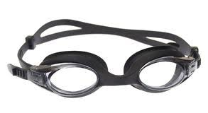 Two Swimming Goggles White Stock Image Image