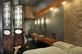View In Gallery Asian Themed Master Suite Idea For The Lavish Contemporary Home