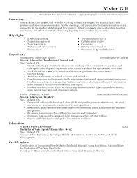 Resume Format For Team Leader Leadership Skills Examples Co Interesting Idea