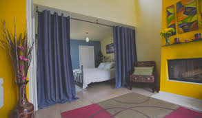 Panel Curtain Room Divider Ideas by Interior Room Divider Curtain To Make Separate Your Living Space