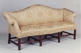 newport camel back sofa