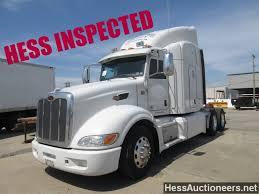 100 Hess Trucks 2013 USED PETERBILT 386 TANDEM AXLE SLEEPER FOR SALE IN PA 23418