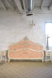 Distressed Cherry French Country Bathroom Vanity by The Painted Cottage Vintage Painted Furniture