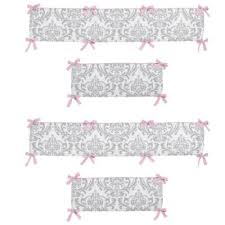 Buy Pink Baby Crib Bumpers from Bed Bath & Beyond