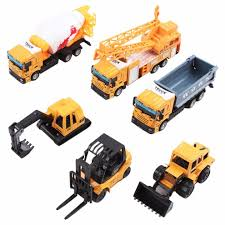 100 Construction Trucks Collectible Die Cast Model 1 64 SMALL