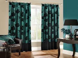 teal living room curtains and decorating collection picture
