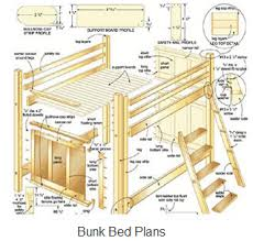 beware of free bunk bed plans