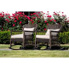 Leisure Made Pearson Dark Brown Wicker Outdoor Rocking Chair With ... Corvus Salerno Outdoor Wicker Rocking Chair With Cushions Hampton Bay Park Meadows Brown Swivel Lounge Beige Cushion Check Out Spring Haven Patio Rocker Included Choose Your Own Color Shopyourway 1960s Vintage In Empty Room With Wooden Floor Stock Photo Knollwood Victorian Child Size American 19th Century Wicker Rocking Chair Against The Windows Curtains Indoor Dark Green 848603015287 Ebay Amazoncom Tortuga Two Porch Chairs And Fniture Best Way For Relaxing Using