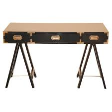 Threshold Campaign Desk Black by Lacquered Campaign Desk Campaign Desk Desks And Furniture Storage