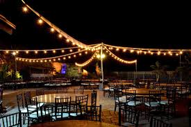 Overhead Outdoor Wedding Reception Lighting Ideas Google Search Best Pavilion Big Wooden Letters