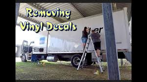 100 What Is A Straight Truck REMOVING VINYL DECLS FROM TRUCK YouTube