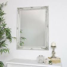 details zu groß kunstvoll antik creme wand spiegel vintage shabby chic land badezimmer deko